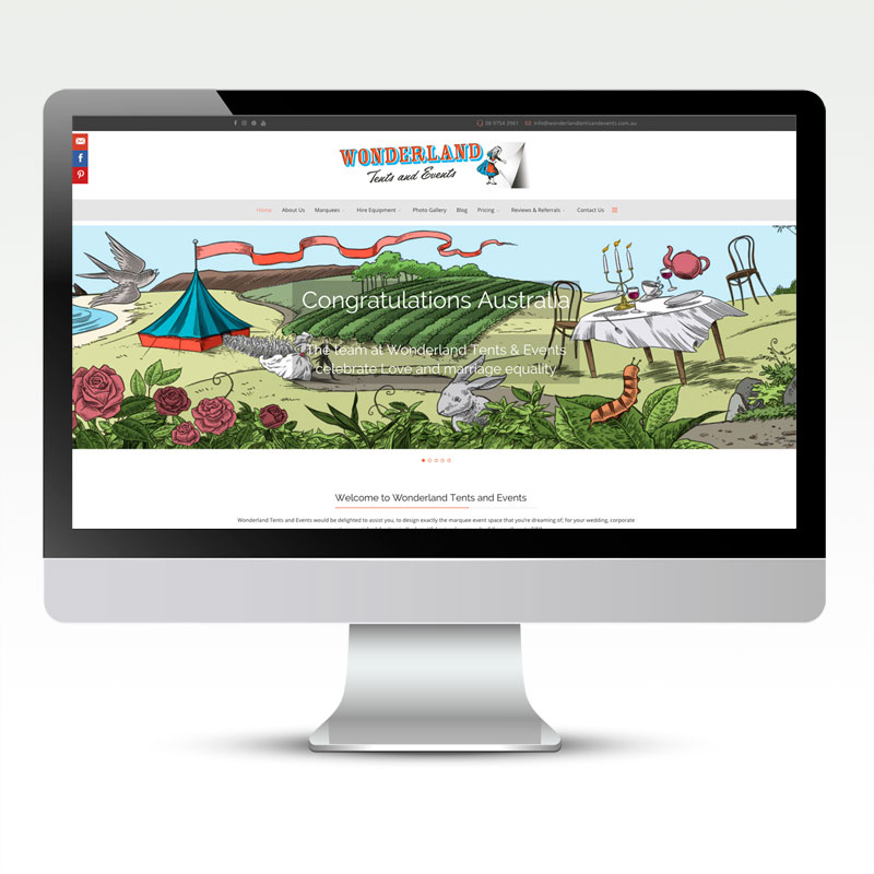 Wonderland Tents & Events